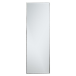 Elegant Decor MR42060S Metal Frame Rectangle Mirror 20 Inch In Silver