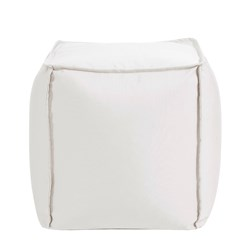 Square Pouf Seascape Natural