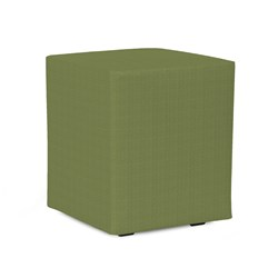Universal Cube Cover Sunbrella Outdoor Seascape Moss - Cover Only