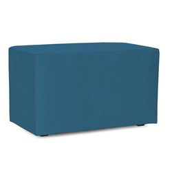 Universal Bench Cover Sunbrella Outdoor Seascape Turquoise