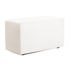 Universal Bench Cover Outdoor Marine Grade Vinyl White