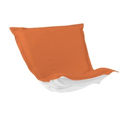 Puff Chair Cover Sunbrella Outdoor Seascape Canyon - Cover Only
