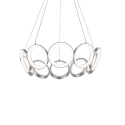 Oros Antique Silver Chandeliers