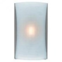 Access One Light Bs  Opl  Glass Wall Light - 62050LED-BS/OPL