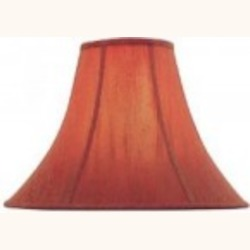 Lite Source Inc. Red Height Red Bell Shade