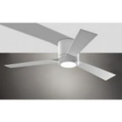 Monte Carlo Thirty Six Light White Hugger Ceiling Fan