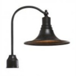 World Imports One Light Bronze Post Mount