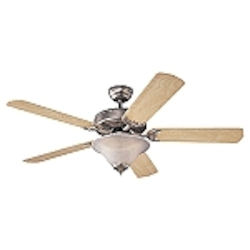 Monte Carlo Three Light Pewter Ceiling Fan