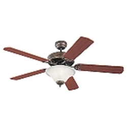 Monte Carlo Three Light Bronze Ceiling Fan