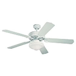 Monte Carlo Two Light White Outdoor Fan