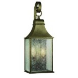 World Imports Two Light Wall Lantern