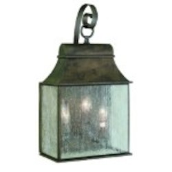 World Imports Three Light Wall Lantern