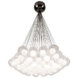 PLC Lighting 37 Light Chandelier Hydrogen Collection