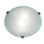 Access Alabaster Mona 2 Light Flush Mount Ceiling Fixture