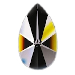 Clear 1.5in. Tear Drop Prism European or 30% lead Crystal WGL101873-1.5 SKU# 11025