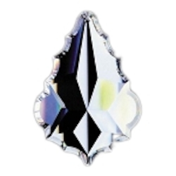 Clear 2.5in. French Cut Prism European, 30% lead or Swarovski Spectra Crystal WGL101911-2.5 SKU# 11033