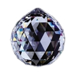 Clear 2in Crystal Ball European, 30% lead or Swarovski Spectra Crystal WGL101701-50 SKU# 10107