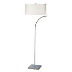 Dimond One Light Chrome Floor Lamp