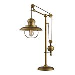 Dimond One Light Antique Brass Table Lamp