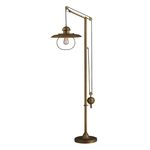 Dimond One Light Antique Brass Floor Lamp