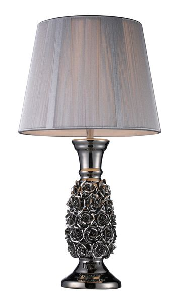 Dimond One Light Alisa Silver Table Lamp