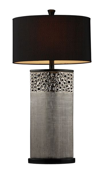 Dimond One Light Silver Plated Table Lamp