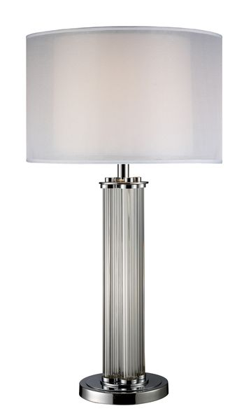Dimond One Light Chrome Table Lamp