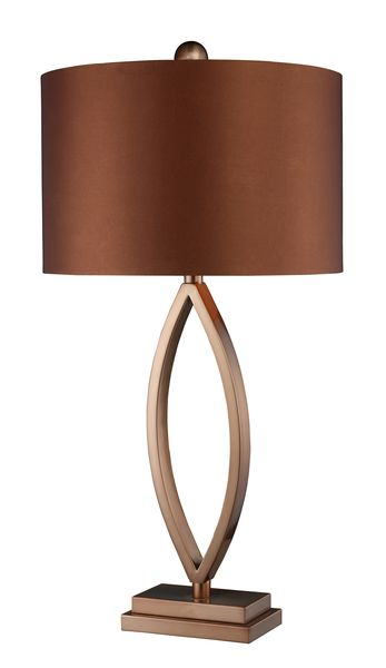 Dimond One Light Coffee Plating Table Lamp