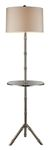Dimond One Light Silver Plated Floor Lamp