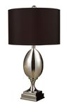 Dimond One Light Chrome Plated Glass Table Lamp