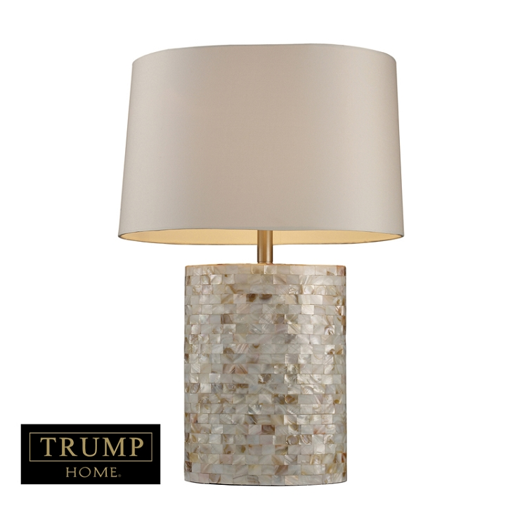 Dimond One Light Mother Of Pearl Table Lamp