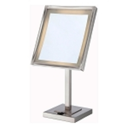 Lite Source Inc. Steel Vogue Ii Lighted Vanity Mirror