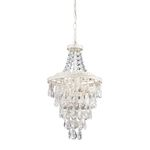 Sterling Industries Clear Crystal Pendant Lamp