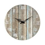 Sterling Industries Wooden  Roman Numeral Outdoor Wall Clock.