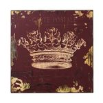 Sterling Industries Red Crown Print Wall Décor