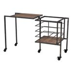 Sterling Industries Industrial Fold Away Storage Bench