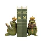 Sterling Industries Pair Superior Frog Gatekeeper Bookends