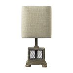 Dimond One Light Montauk Grey Table Lamp