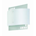 Lite Source Inc. Wall Lamp Ps/Frost Glass Shade Type Fluor. Pl 13W(2700K)