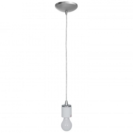 Access Brushed Steel  1 Light Down Lighting Pendant From The Sydney Collection