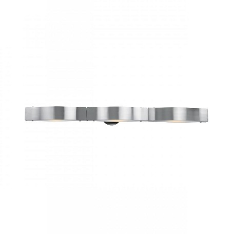 "Access Down Lighting 35.5"" Wide Bathroom Fixture From The Titanium Collection"