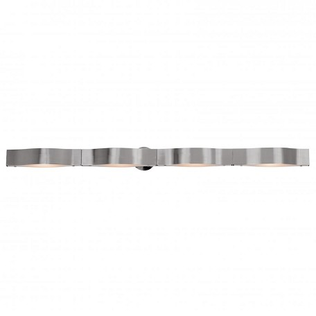 "Access Down Lighting 47.25"" Wide Bathroom Fixture From The Titanium Collection"
