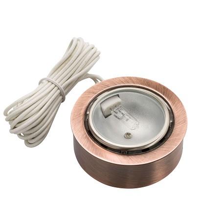Kichler Copper Taskwork Bright Disc Under Cabinet Light