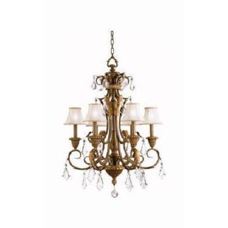 Kichler Kichler 2130Rvn Ravenna Ravenna Single-Tier  Chandelier With 6 Lights
