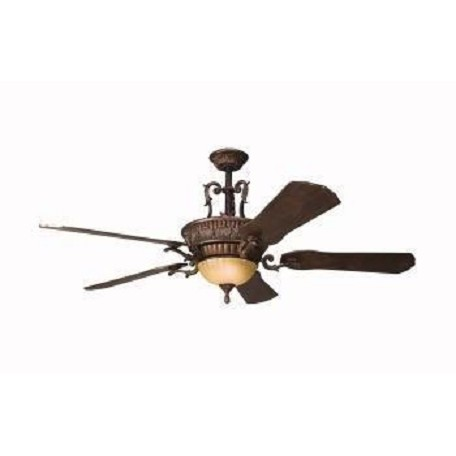 "Kichler Berkshire Bronze Kimberley 56"" Indoor Ceiling Fan With 5 Blades"