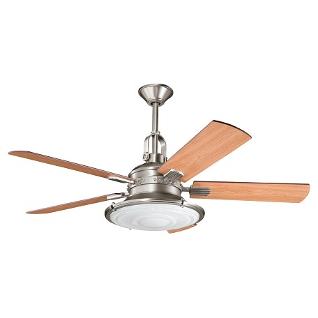"Kichler Kichler 300020Ap Antique Pewter 52"" Indoor Ceiling Fan With 5 Blades"