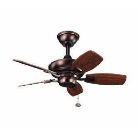 Kichler Oil Brushed Bronze 30In. Outdoor Ceiling Fan With 5 Blades