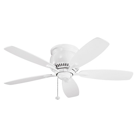 Kichler White 42In. Indoor Ceiling Fan With 5 Blades