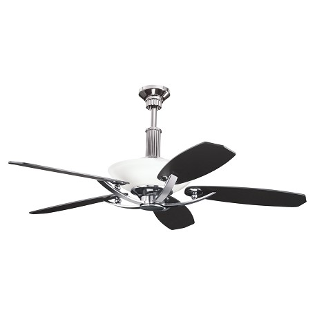 "Kichler Kichler 300126Mch Midnight Chrome 56"" Indoor Ceiling Fan With 5 Blades"