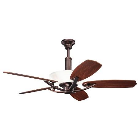 Kichler Six Light Oil Brushed Bronze Ceiling Fan Oil